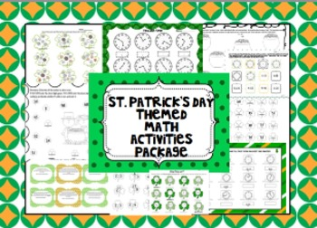 St. Patrick's Day Math Themed Activities