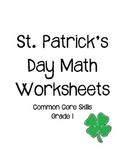 St. Patricks Day Math Worksheets