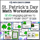 St. Patrick's Day Math Workstations