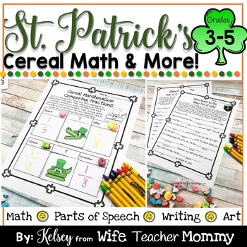 St. Patrick's Day Marshmallow Activities