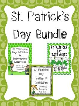 St. Patrick's Day Math, Writing, & Crafts Bundle