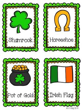 St. Patrick's Day {Math and ELA Activities}
