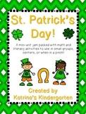 St. Patrick's Day {Math and ELA Activities}
