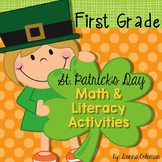 St. Patrick's Day Math and Literacy Activities {First Grade}