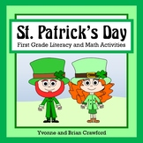 St. Patrick's Day Math and Literacy Activities First Grade Common Core
