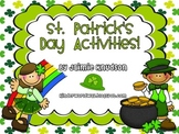 St. Patrick's Day Math and Literacy Activities and Leprechaun Craftivity!