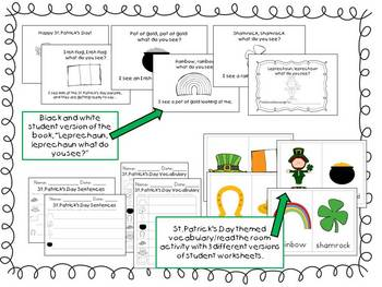 St. Patrick's Day Math and Literacy Activities for the Classroom