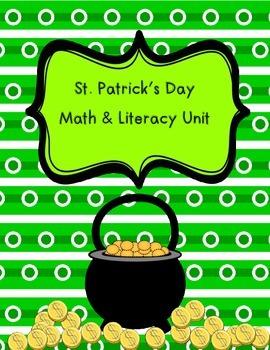 St Patrick's Day Math and Literacy Bundle
