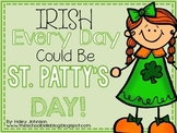 St. Patrick's Day Math and Literacy Centers for March (Common Core Aligned)