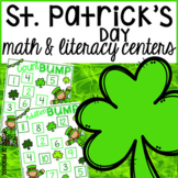 St. Patrick's Day Math and Literacy Centers for Preschool, Pre-K, & Kindergarten