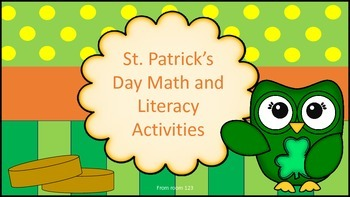 St. Patrick's Day Math and Literacy Fun Activities