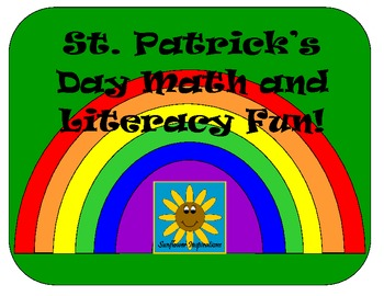 St. Patrick's Day Math and Literacy Fun- Includes 8 Fun Activities