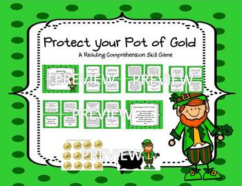St. Patrick's Day Math and Literacy Game Pack - COMMON CORE ALIGNED SKILLS