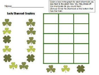 St. Patrick's Day Math and Literacy Packet