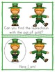St. Patrick's Day Worksheets Emergent Reader Task Cards