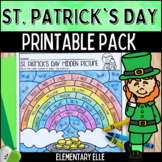 St. Patrick's Day Math and Literacy Printable Pack