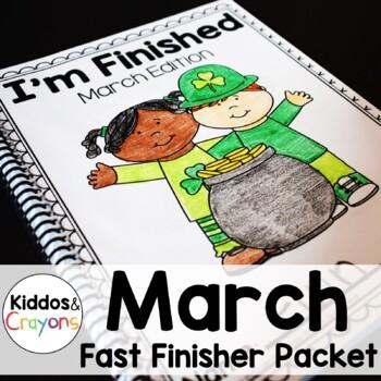 St. Patrick's Day Math and Literacy Printables-No Prep!