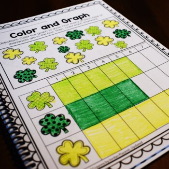 St. Patrick's Day Math and Literacy Printables-No Prep!