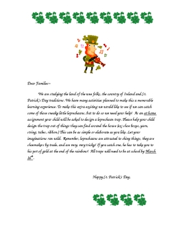 St. Patrick's Day Math and Poems