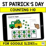 St Patricks Day Math for Google Slides™ and Google Classroom™