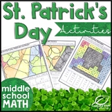 St Patricks Day Math for Middle School