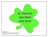 St. Patrick's Day Math with Dice