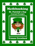 St. Patrick's Day Math Journal Prompts (kindergarten)