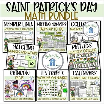 St Patrick's Day - 10 Math Tasks