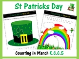 St Patricks Day Maths - Counting in March (Numbers 0-20) K.CC.B.5