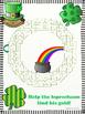 St. Patricks Day Mazes!  Help the Leprechaun Find His/ Her Gold!!