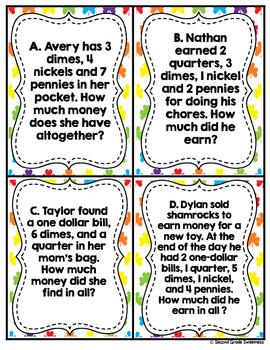 St. Patricks Day Word Problems
