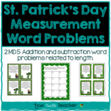 St. Patrick's Day Measurement Word Problems