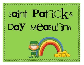 St. Patrick's Day Measuring