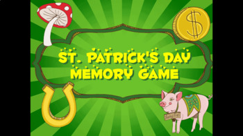St. Patrick's Day Memory Card Game PPT - Whole Class Activity