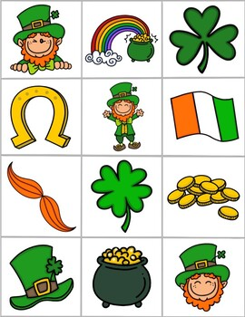 St. Patricks Day Memory Game