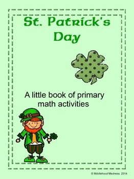 St. Patrick's Day Mini Activity Book