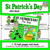 St Patrick's Day Activities - Read and Color Mini Book