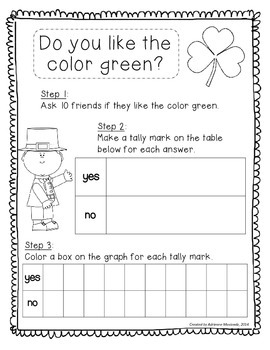 St. Patrick's Day Mini Math Packet