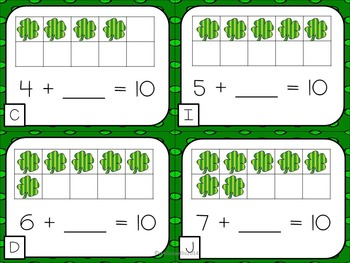 St. Patrick's Day - Math and Literacy Activities
