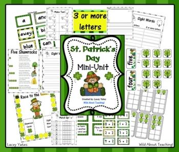 St. Patrick's Day Mini-Unit