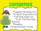 St. Patrick's Day Mini Unit~ Includes Graphic Organizers &