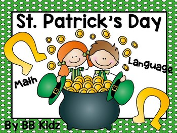 St. Patrick's Day Mini Unit {Math / Language for Kindergarten}