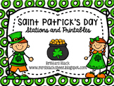 St. Patrick's Day- Stations and Printables