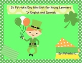 St. Patrick's Day Mini Unit for Young Learners (English an