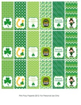 St Patrick's Day Mint Toppers