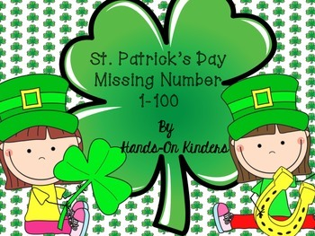St. Patrick's Day Missing Number