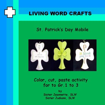 St. Patrick's Day Mobile 3D for Grades 1 to 3