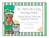 St. Patrick's Day Money Math