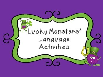 St. Patrick's Day: Monster Language