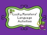 St. Patrick's Day: Monster Language